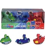 PJ Masks vozidla 3 ks