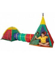 Detský stan s tunelom